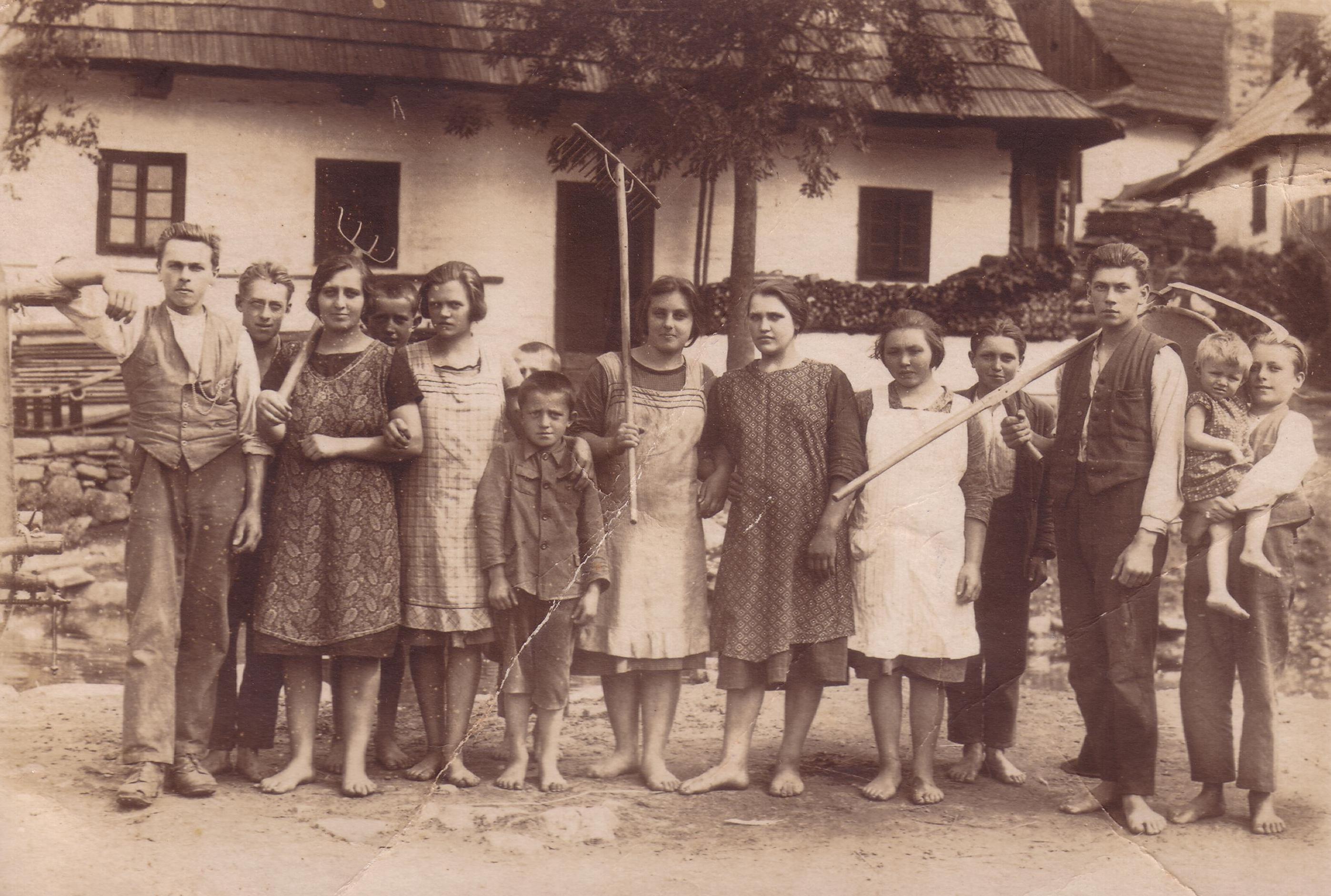 Procházkova chalupa - stará